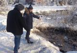 В Советском районе замерзли очистные сооружения. Есть угроза эпидемиологической вспышки. ФОТО