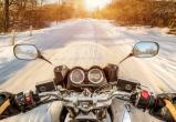 Югорский путешественник в 20-градусные морозы отправился в Тольятти на мотоцикле. ВИДЕО