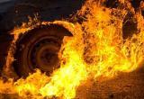 Ночью на трассе Нягань - Талинка сгорел автомобиль
