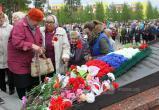 Сегодня в Нягани вспоминают о погибших в Великой Отечественной войне. ФОТОРЕПОРТАЖ