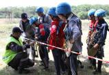 Спасатели «Центроспас-Югории» - на соревнованиях «Школа безопасности» в Нягани