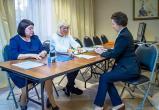 Комарова досрочно проголосовала на выборах губернатора Тюменской области