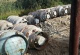 В Нефтеюганске коммунальщики закопали в землю баллоны с ядом