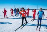 Наталья Комарова встала на лыжи. ФОТО