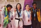Спортсменка из Югры выиграла открытый чемпионат Мексики по паратхэквондо