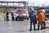На территории «Няганьгазпереработки» прошли пожарно-тактические учения. ФОТО