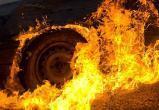 На трассе Сургут-Нефтеюганск на мосту через Обь загорелась «ГАЗель». ВИДЕО