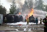 В Сургутском районе горели автоцистерны с топливом. ФОТО