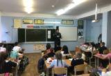 Инспекторы ОНДиПР в Нягани и Октябрьском районе проводят уроки безопасности для школьников