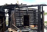 В Нягани горела баня