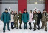Сотрудники 4 ОФПС вручили благодарственные письма няганским добровольцам. ФОТО