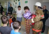Дошкольники Нягани посетили квест-комнату по пожарной безопасности. ФОТО