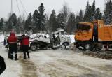 """В Нефтеюганском районе автобус """"ПАЗ"""" столкнулся с грузовиком """"Shacman"""""""