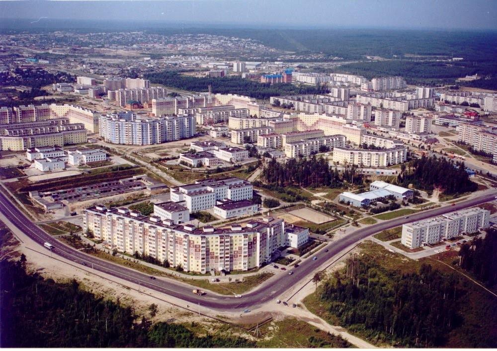 Фото Нягань,вид на 2 мкр.