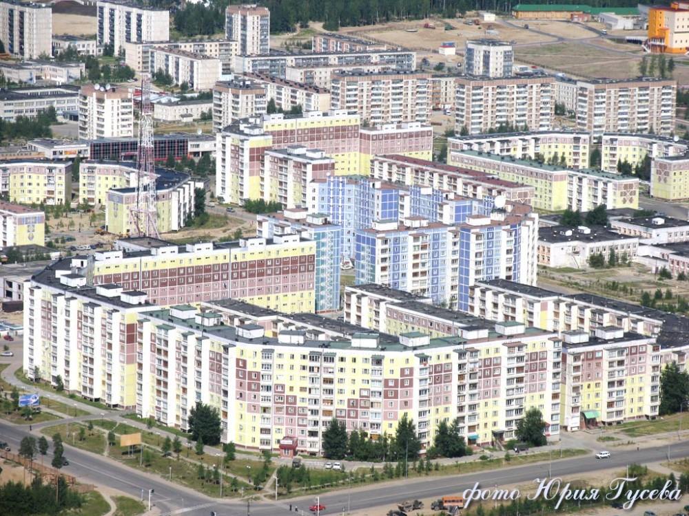 Фото Нягань, вид на 2 мкр.