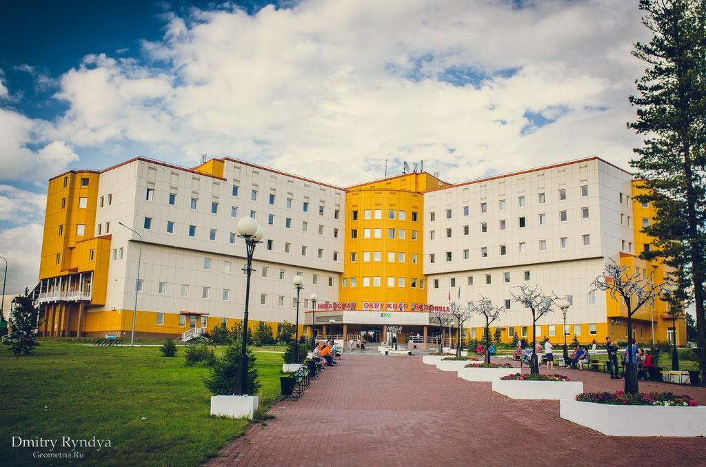 Фото Нягань, территория Лечебно-хирургического комплекса.