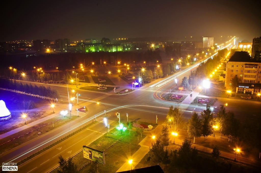 Фото Нягань ночная.