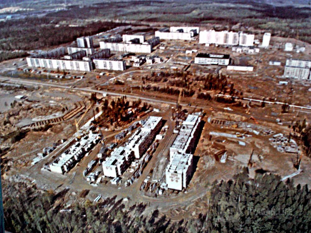 Фото 1986  Панорама города